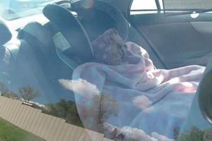 Woman Gets Busted With A Fake Baby In Order To Use The Car Pool Lane