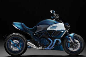 Italian Custom Car Builder Unveils Insane Ducati Diavel Superbike