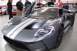 Jack Roush Receive His Gorgeous 2017 Ford GT