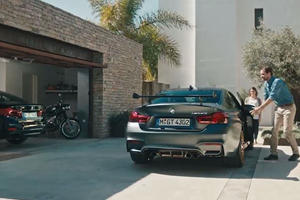 BMW Makes Hilarious Commercial About Uncomfortable M4 GTS