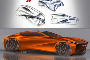 What If The Future Of Dodge Design Looked Like This?