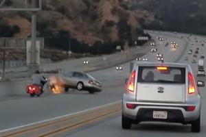 Shocking Road Rage Incident Causes Chain Reaction Crash