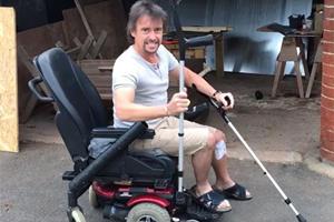 Richard Hammond's Modified Wheelchair Is A Stroke Of Genius