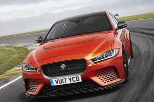 The XE SV Project 8 Is The Jaguar Way Of Telling Germany, 'Watch Your Back'