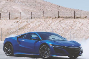 Watch A Pro Racing Driver Somehow Rip Donuts On An AWD Acura NSX