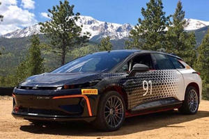 Faraday Future Conquered Pikes Peak Faster Than A Tesla Model S