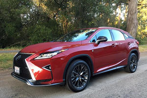 2017 Lexus RX350 F Sport Review: Luxury And Utility Rarely Blend Better