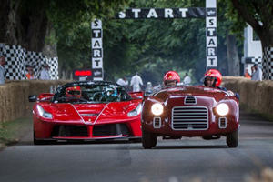Ferrari Brought Its First Prancing Horse-Badged Car Ever To Goodwood