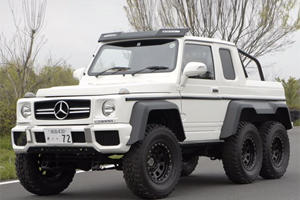 This Mercedes-AMG 6x6 Is Really Just An Amazing Suzuki-Based Replica