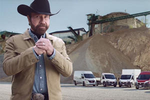 Chuck Norris Can Do Anything, Like Making The Fiat Ducato A Total Badass