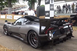 This Pagani Zonda Was Commissioned For A Nine-Year-Old