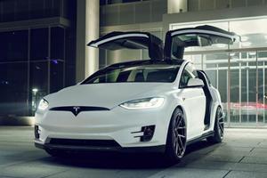 Tesla Model X Gets Rare Makeover By Novitec