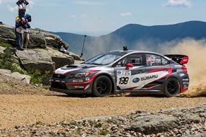 600-HP Subaru Sets New Record At America's Most Harrowing Hillclimb