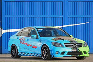 Mercedes C63 AMG 'Green-Blue Eliminator' by Wimmer