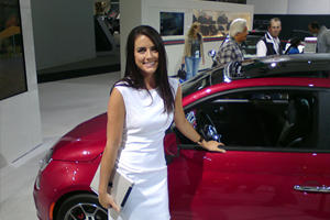 CarBuzz Exclusive: Sexy Sales Girls at the LA Auto Show