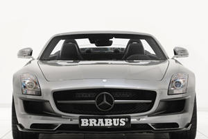 Brabus Reveals Mercedes-Benz SLS AMG Roadster at Essen Motor Show