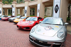 Franck Muller Super Car Tour Visits S.E. Asia