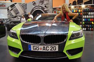 Anabolicar BMW Z4 Stars at the Essen Motor Show
