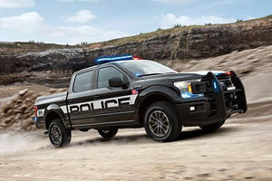 Ford Debuts First Pursuit-Rated F-150 With A Raptor-Based EcoBoost V6