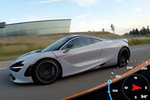 McLaren 675LT Tries To Attack A 720S On The German Autobahn