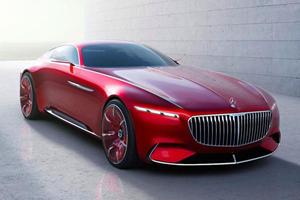Mercedes Teases Maybach 6 Convertible Ahead Of Pebble Beach