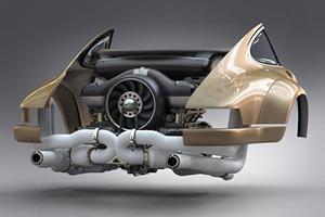 Singer Working With Williams To Build 500-HP Porsche 911 Engine