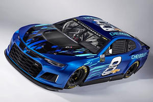 Check Out The New Chevrolet Camaro ZL1 NASCAR Racer