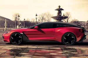 Aston Martin And Zagato Reveal Glorious Vanquish Station Wagon