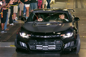 Rick Hendrick Receives His $250,000 Camaro ZL1 1LE