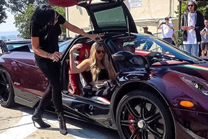 How Many Girls Fit Into A Pagani Huayra BC?