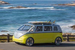 Volkswagen Brings Groovy Back With Production Electric Bus
