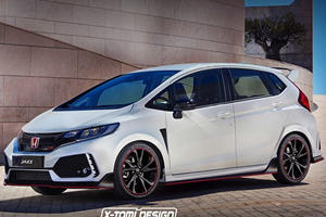 This Honda Fit Type R Is The Mini Hot Hatch We Didn't Know We Wanted