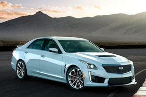 Cadillac CTS-V Glacier Metallic Edition Revealed For 115th Birthday