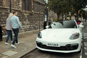 Porsche Messes With Lucky Rider's Zipcar By Swapping It For A Panamera
