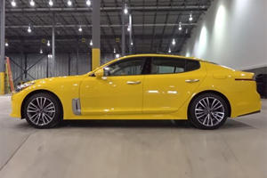 What Do You Think Of The Sporty Kia Stinger In Yellow?