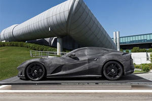 This Ferrari 812 Superfast Scale Model Costs More Than The Actual Car