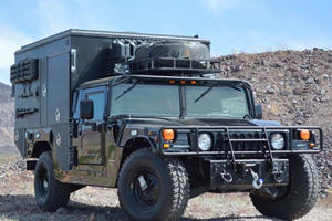 You Can Buy This Former SWAT H1 Hummer For $125,000