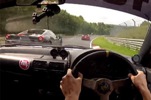 This Ferrari 458 Driver Needs To Be Banned From The Nurburgring