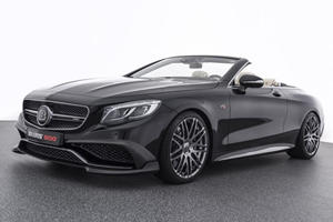 The Brabus Rocket 900 Cabrio Is A 900-HP Luxury Mercedes S65 Monster