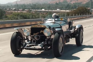 This Pre-WWII Hot Rod Is Powered By A WWI Aircraft V8 Engine