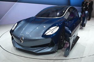 Borgward Hits Frankfurt With The Curious-Looking Isabella EV Concept