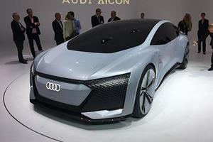 Audi Aicon Concept Is A Fully Autonomous Sports Sedan