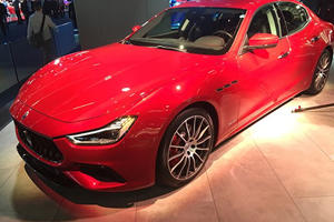 2018 Maserati Ghibli Gains Some Extra Performance Muscle For Frankfurt