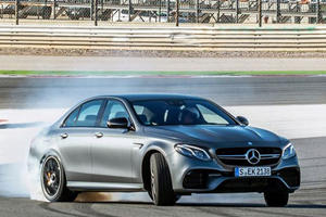 Chris Harris Hops In The Mercedes-AMG E63 S And Mayhem Begins