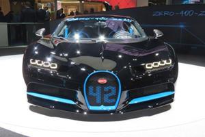 Bugatti Chiron Successor To Start Development In 2019
