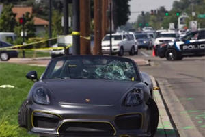 Watching This Porsche Boxster Plow Into A Group Of People Is Painful