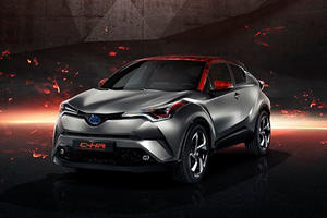 New Toyota Concept Previews More Powerful Hybrids