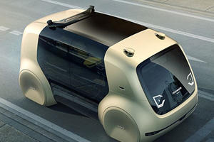 The Self-Driving Volkswagen Sedric Will Hit The Streets By 2021