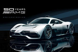 Watch How Photoshop Can Make The AMG Project One Look Even Better