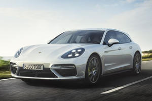 This Is The 680-HP Porsche Panamera Turbo S E-Hybrid Sport Turismo